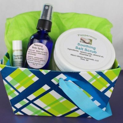 Organic Homemade Gift Baskets