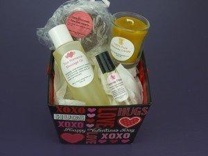 Organic Homemade Valentines Gift Baskets