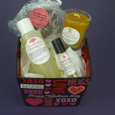 Organic Homemade Valentines Gift Baskets